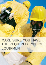 Make sure you have the required type of equipment