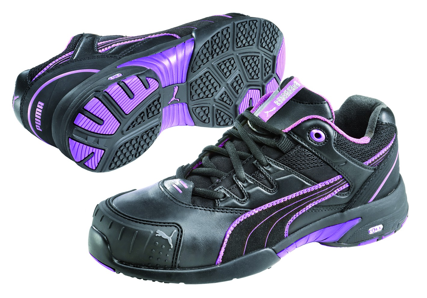 Puma STEPPER LADIES LOW Leather/Textile Upper Trainer Safety Shoes