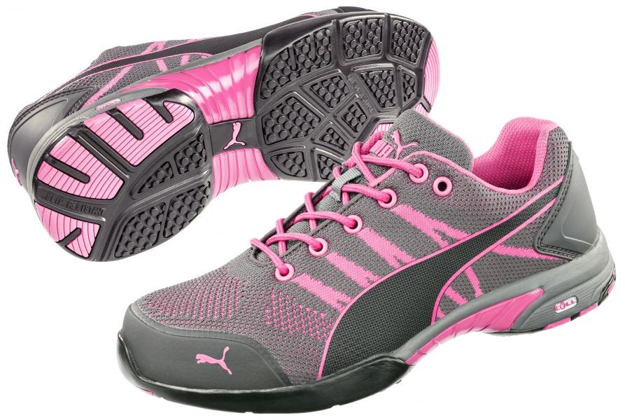 39ddb02204af Puma CELERITY KNIT PINK LADIES LOW Trainer Safety Shoes