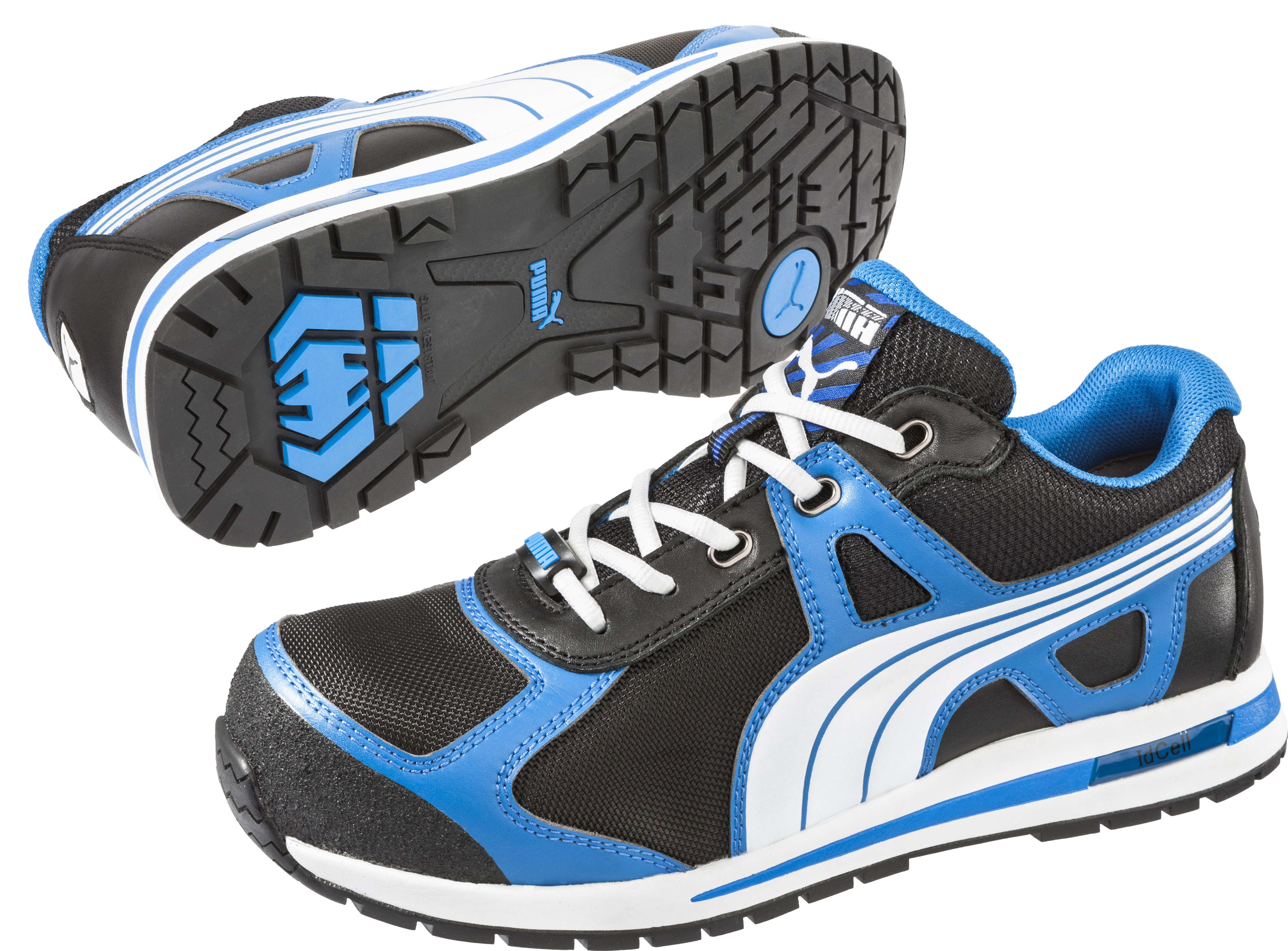 Puma AERIAL LOW Microfibre & Textile Upper Trainer Safety Shoes