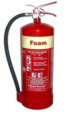 9 Litre AFFF Foam Fire Extinguisher