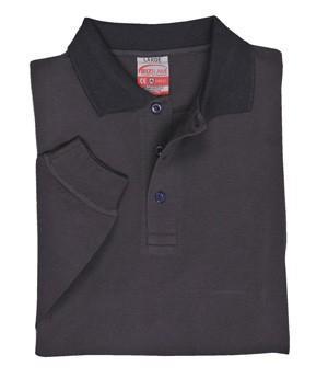 Bizflame Flame Retardant Antistatic Long Sleeve Polo Shirt