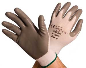 Matrix F Nitrile Foam Glove