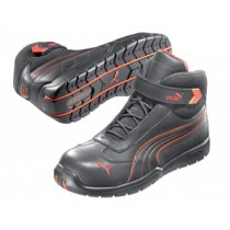 Puma Leather Motorsport Style Safety Boots