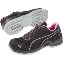 Puma FUSE TC PINK LADIES LOW Durable Microfibre Upper Trainer Safety Shoes