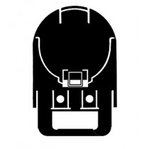 Bilsom Leightning 3717 Helmet Ear Defender/Visor Carrier Adaptors
