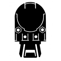 Bilsom Leightning 3718 Helmet Ear Defender/Visor Carrier Adaptors