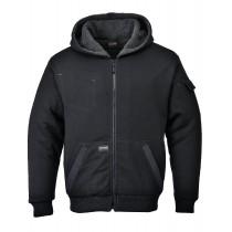 PEWTER Heavy Pile Lined Hoodie Jacket