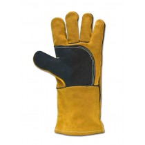Black and Gold High Quality Welders Gauntlet