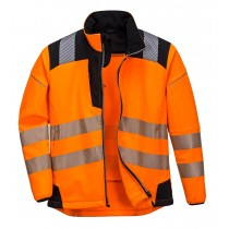 Vison Hi Viz Softshell jacket Orange