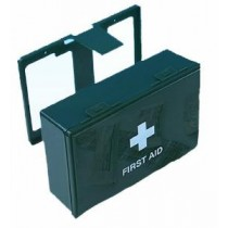 Standard 1-10 Person First Aid Box with Bracket