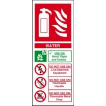 Self Adhesive Vinyl Safety Sign 202 X 82MM