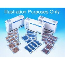 Blue Electromagnetically Detectable Adhesive Plasters