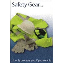 Laminated Safety Poster 525 x 775mm