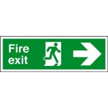 Self Adhesive Vinyl Safety Sign 400 X 150MM