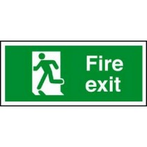 Self Adhesive Vinyl Safety Sign 300 X 150MM