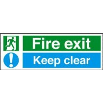 Self Adhesive Vinyl Safety Sign 450 X 200MM