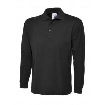 Uneek Long Sleeve Pique Polo Shirt