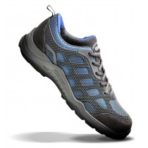 V12 VITAL ACTIVE Blue/Grey Safety Trainer Shoe