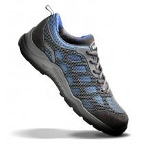 V12 VITAL ACTIVE Blue/Grey Safety Trainer Shoe