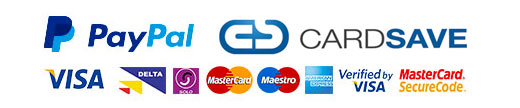 Secure Shopping with PayPal and Cardsave Payments
